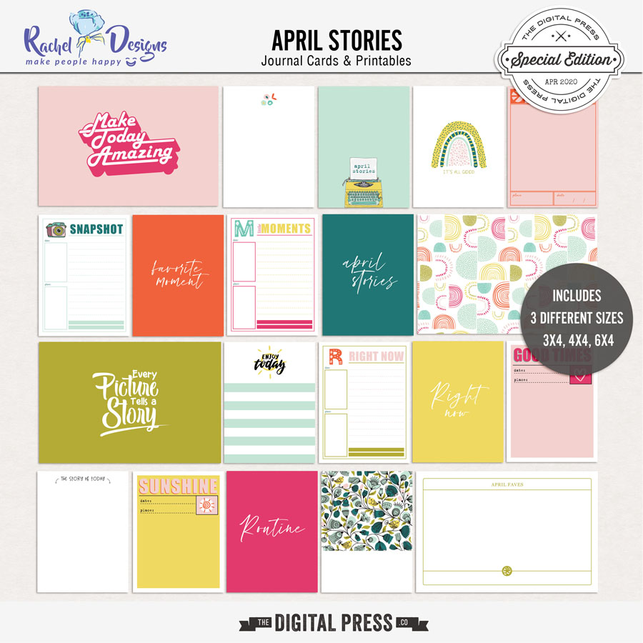 April Stories | Pocket Cards