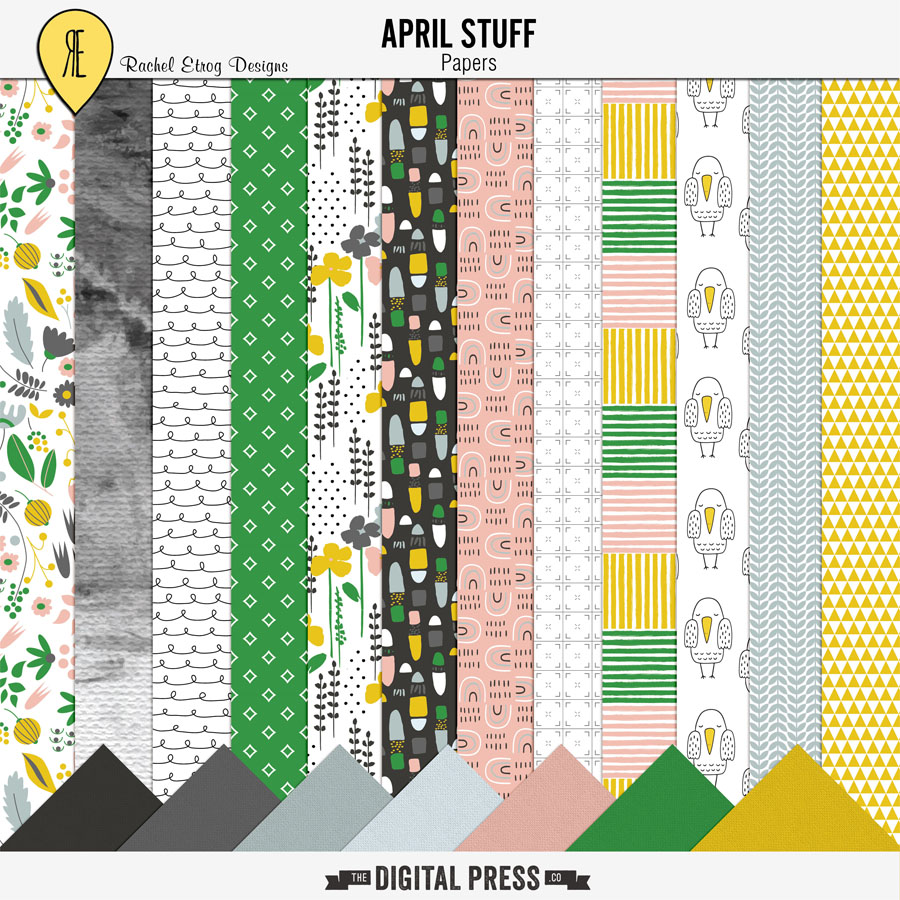 April Stuff | Papers
