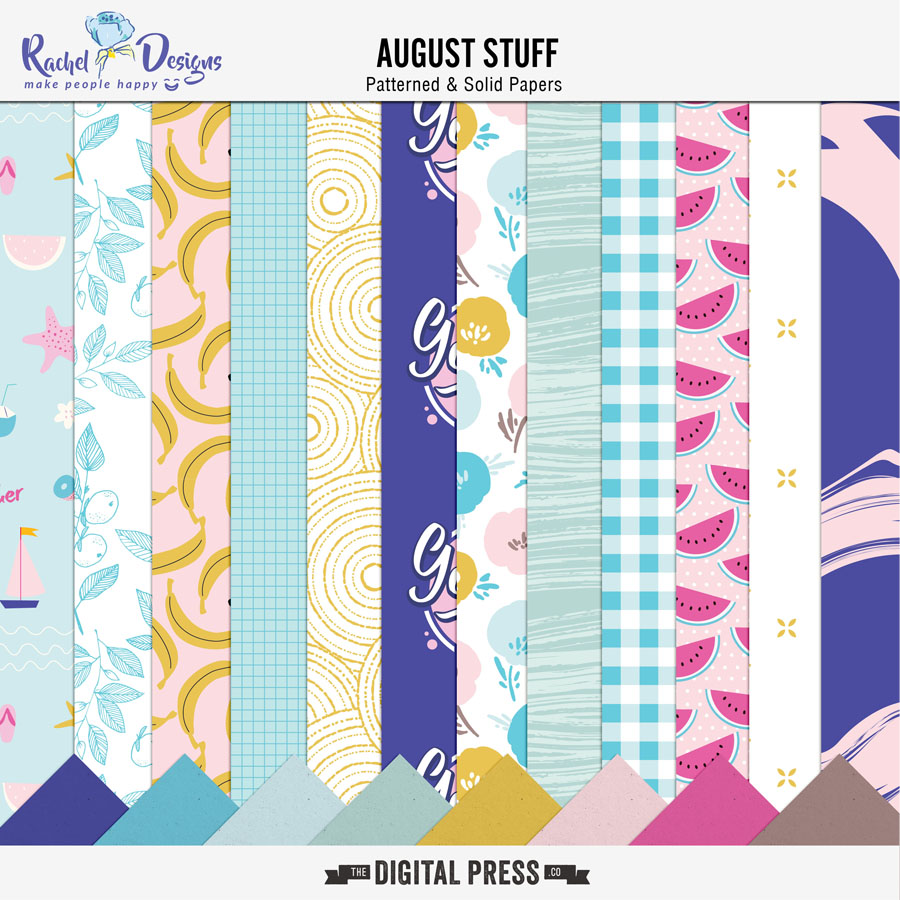 August Stuff | Papers