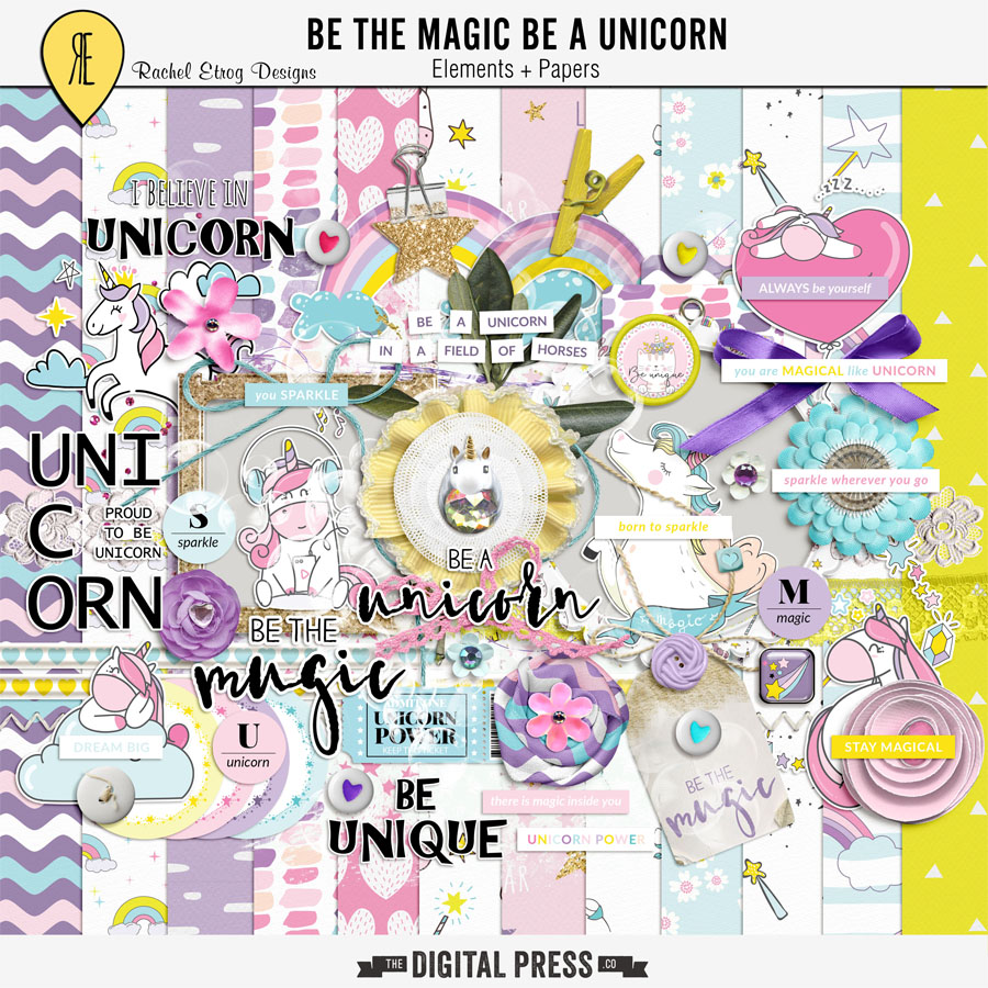 Be The Magic Be A Unicorn | Kit
