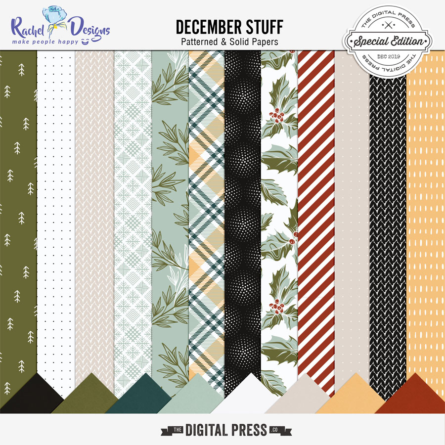 December Stuff | Papers Pack