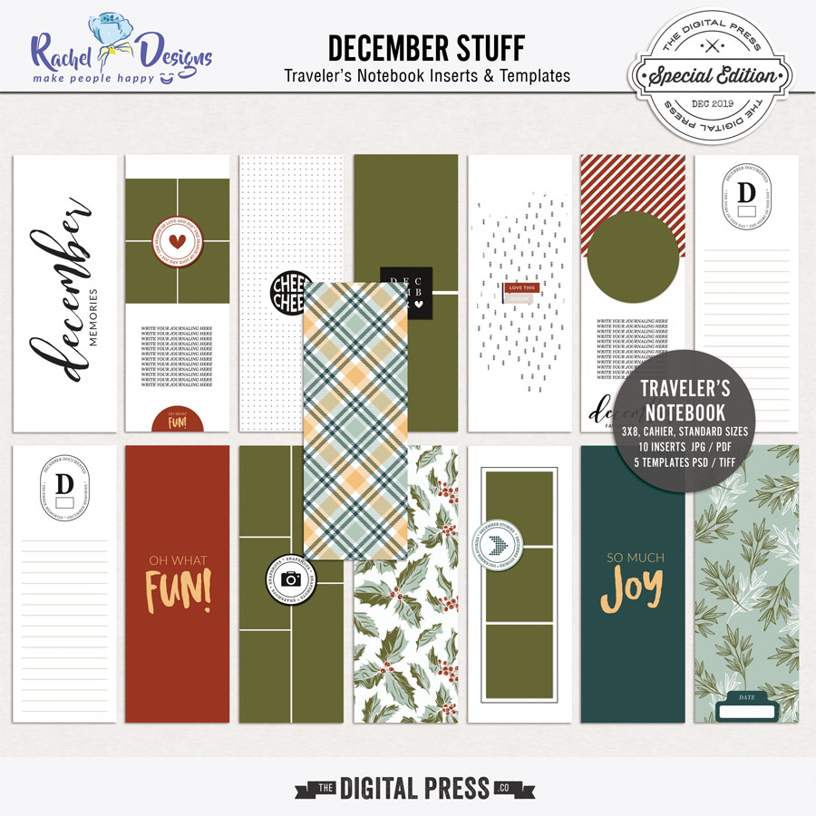 December Stuff | Traveler's Notebook
