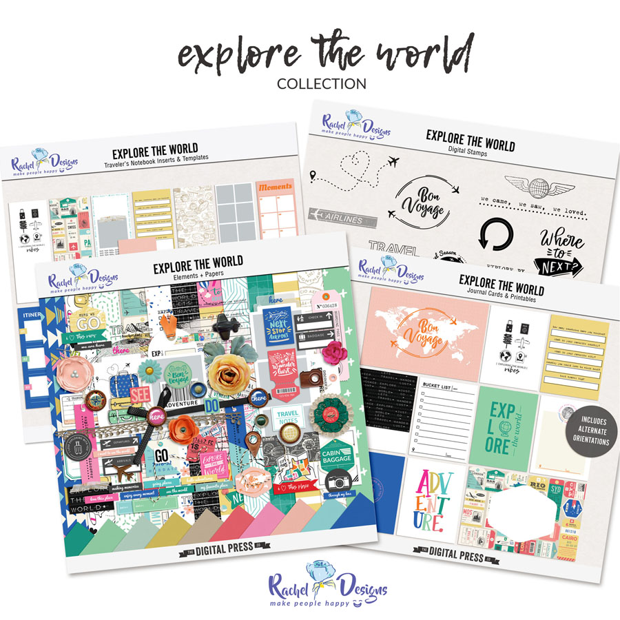 Explore The World | Collection