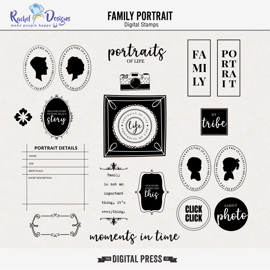 Family Portrait | Stamps