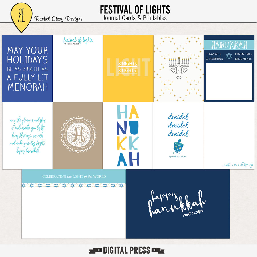 Festival Of Lights | Journal Cards