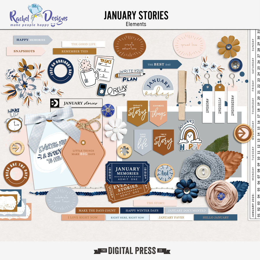 January Stories | Elements
