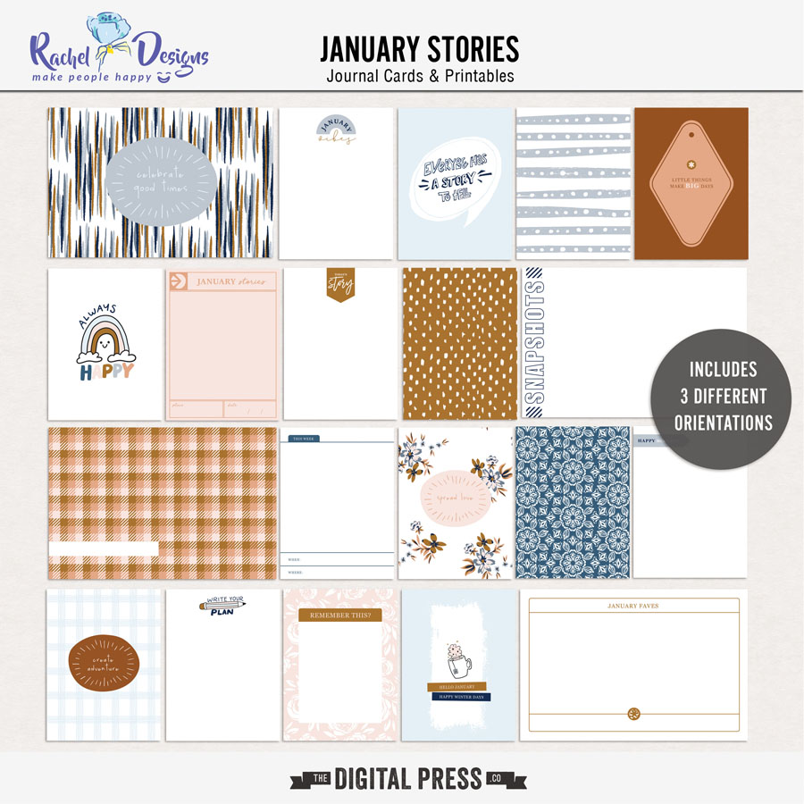 January Stories | Pocket Cards