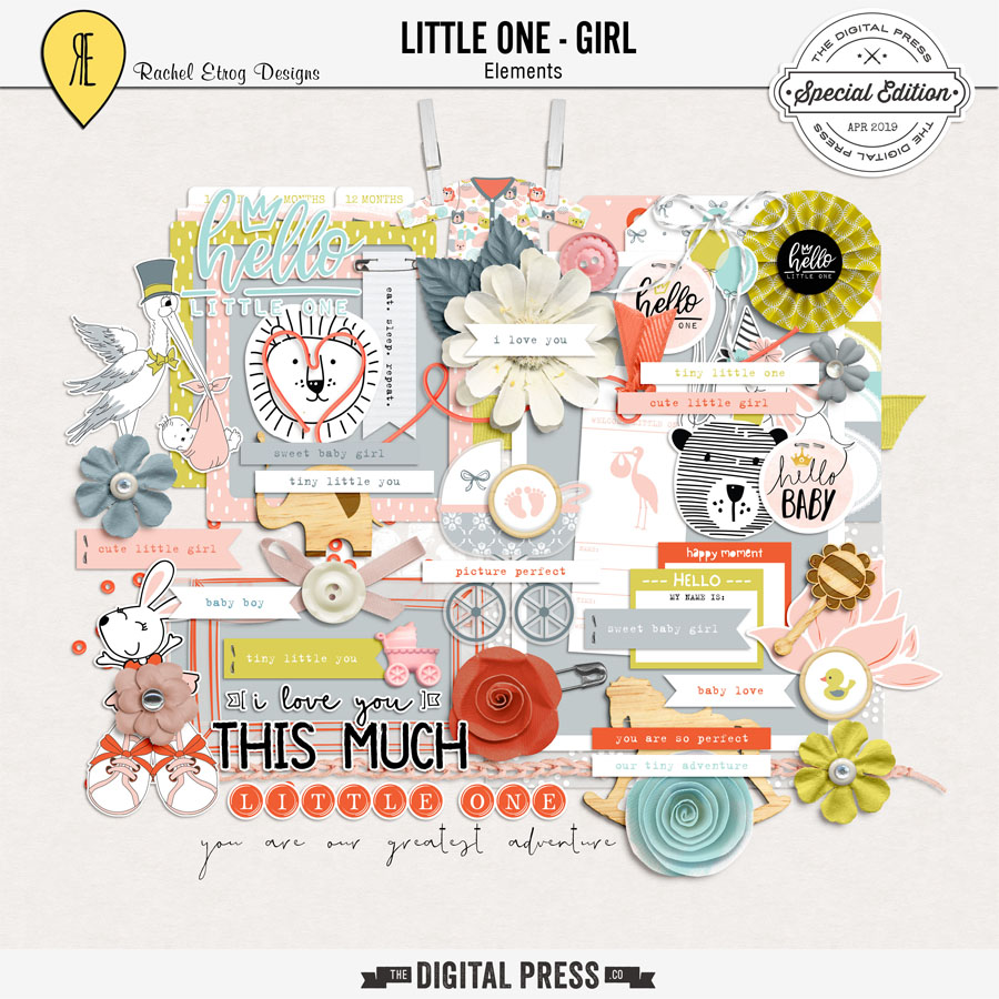 Little One Girl | Elements