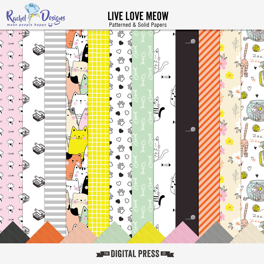 Live Love Meow | Papers