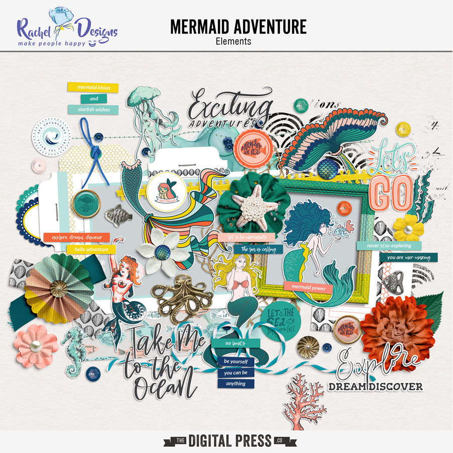 Mermaid Adventure | Elements