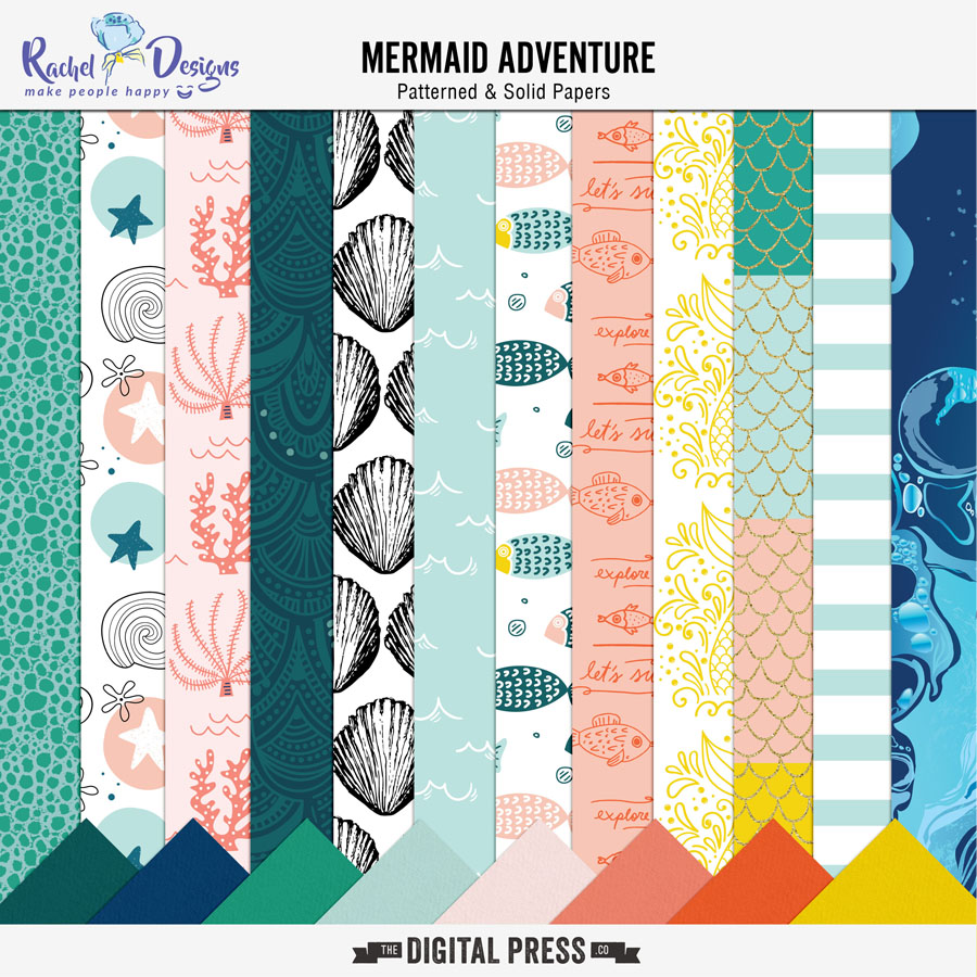 Mermaid Adventure | Papers