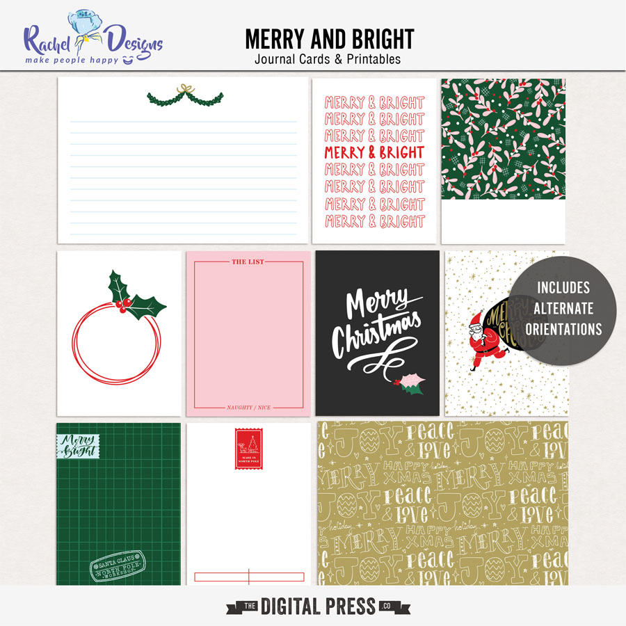Merry And Bright | Pocket Cards