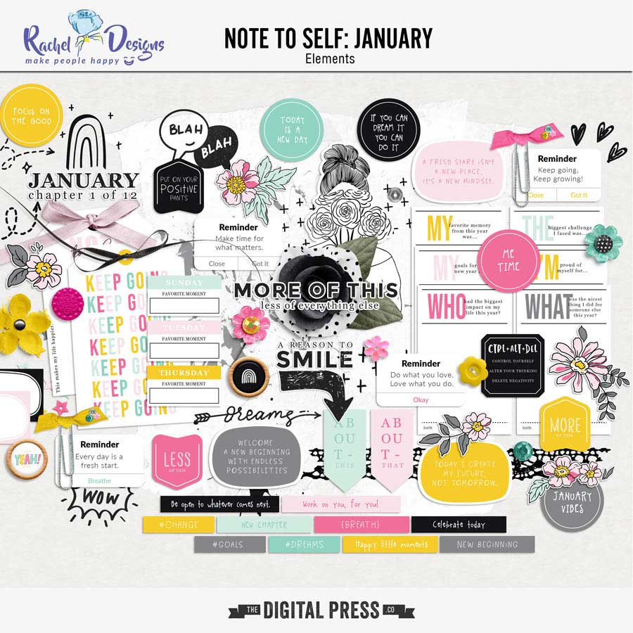 Note To Self January | Elements