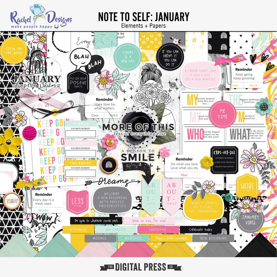 Note To Self January | Kit