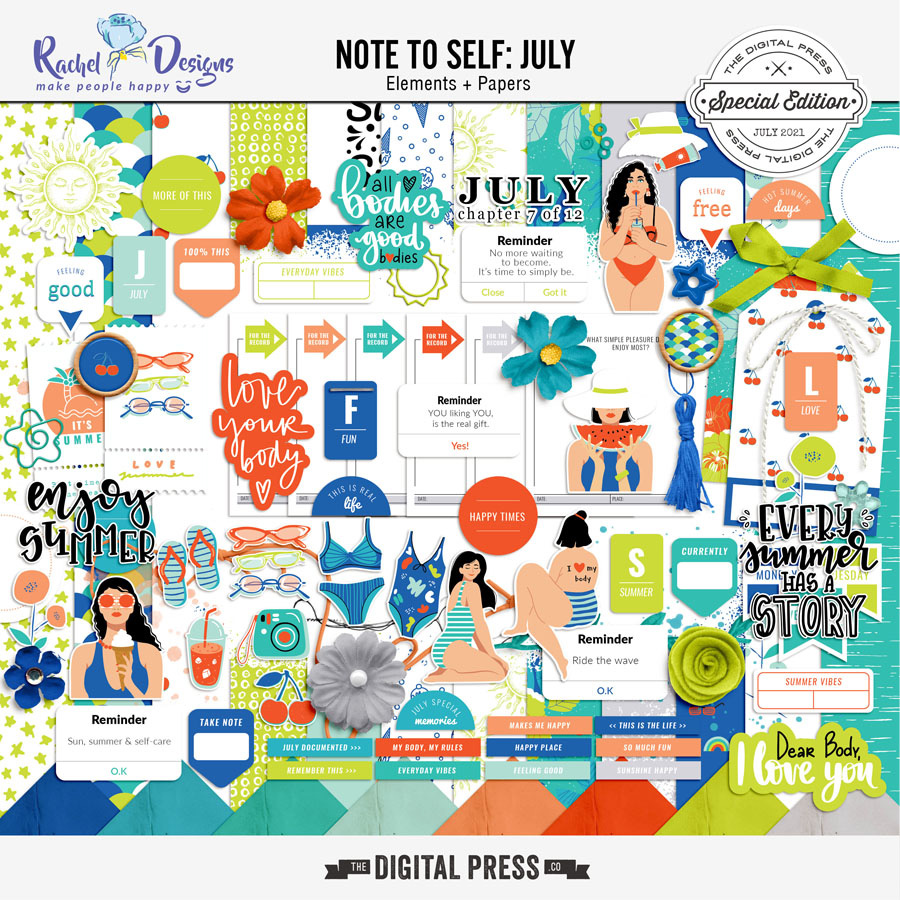 Note To Self July   Kit
