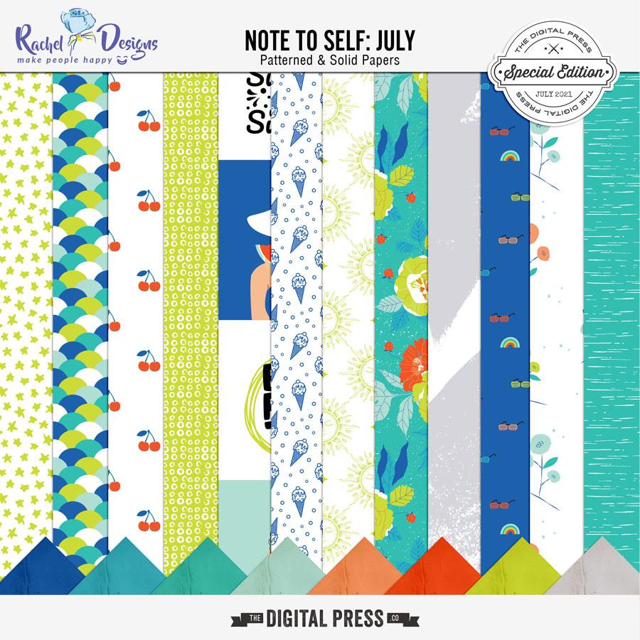 Note To Self July | Papers