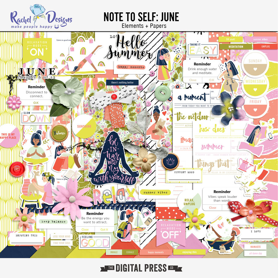 Note to Self: June   Kit
