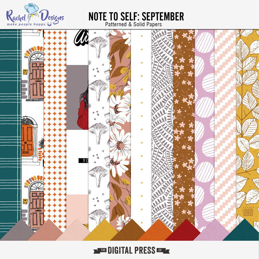 Note To Self September | Papers