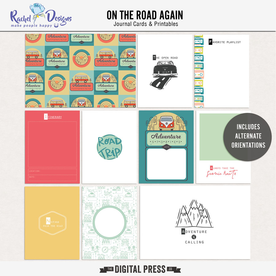 On The Road Again | Pocket Cards