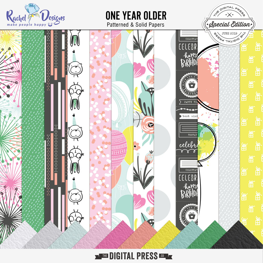 One Year Older   Paper Pack