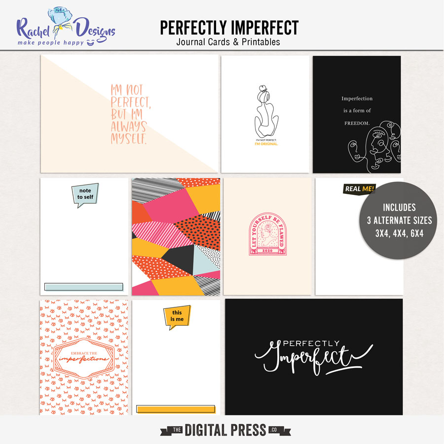 Perfectly Imperfect | Pocket Cards