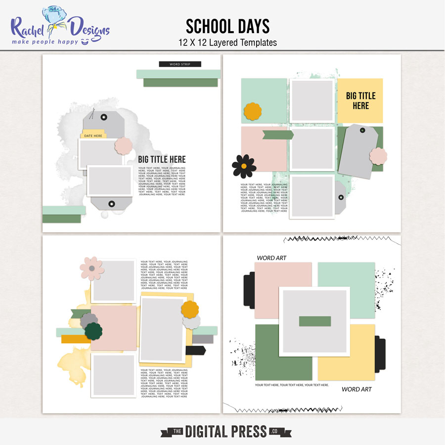 School Days | Templates