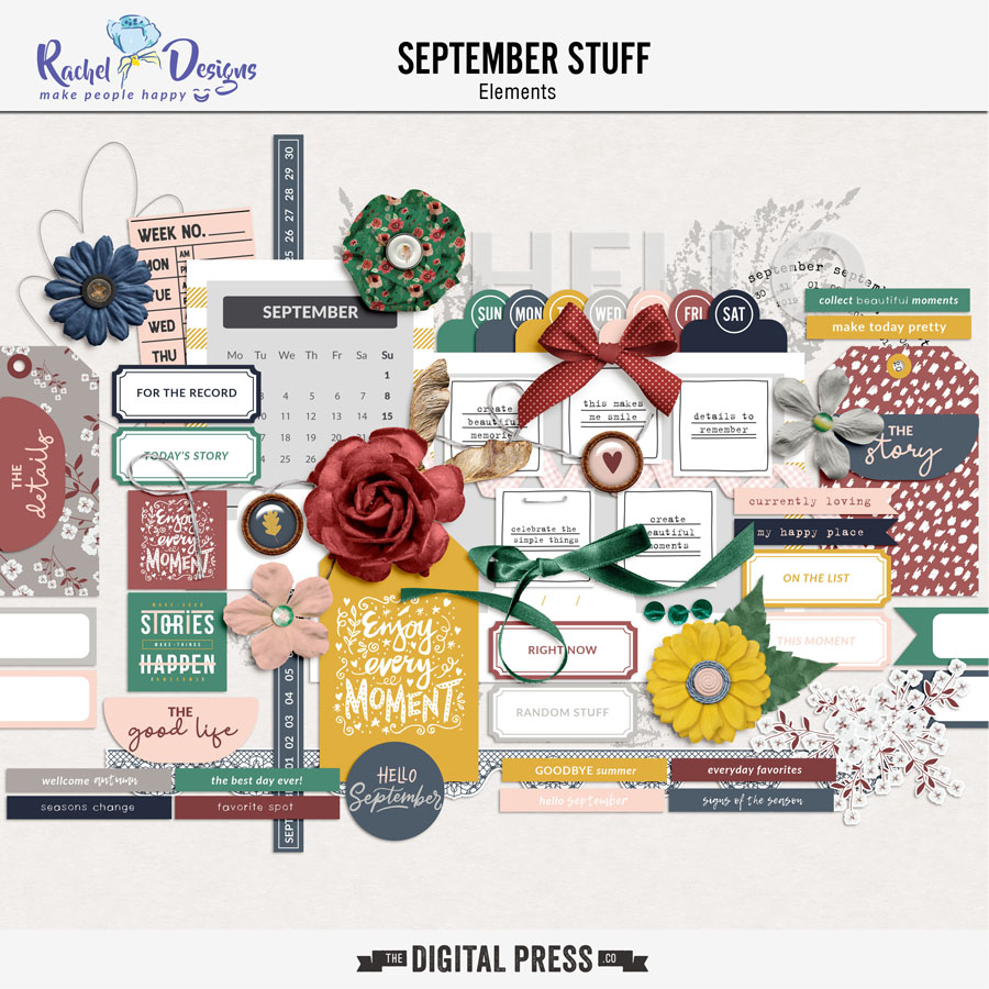 September Stuff | Elements