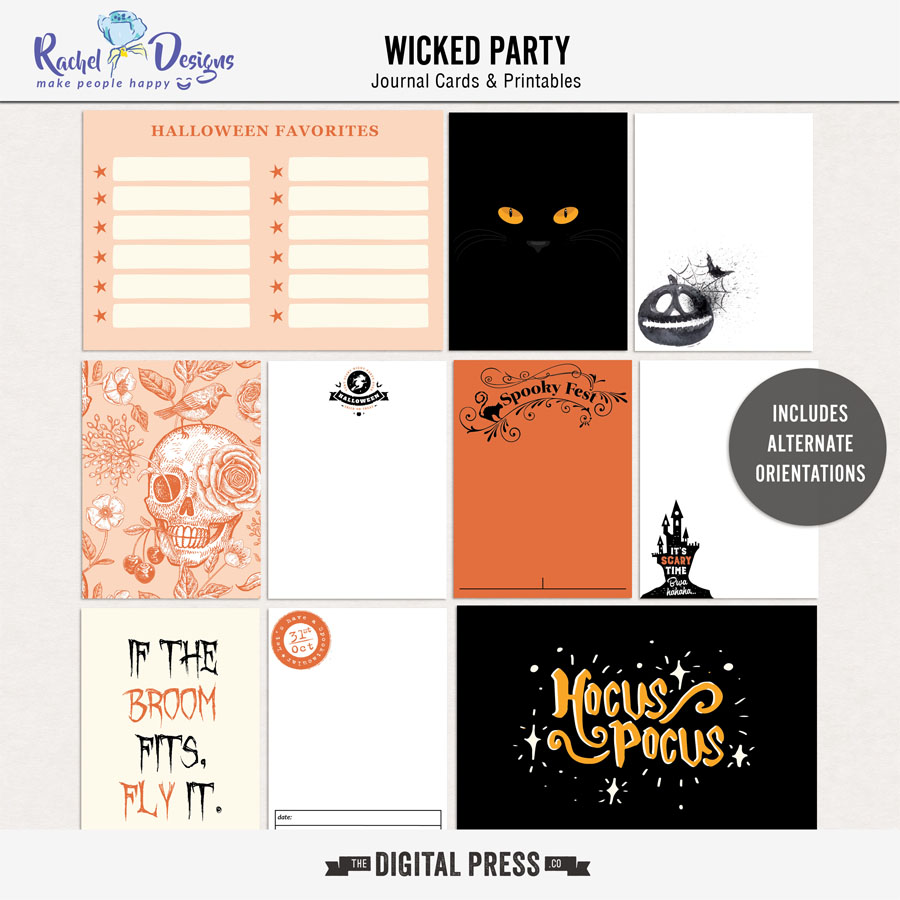 Wicked Party | Pocket Cards
