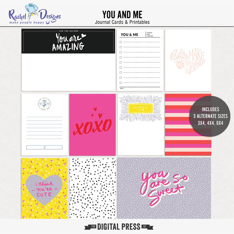 You And Me | Pocket Cards