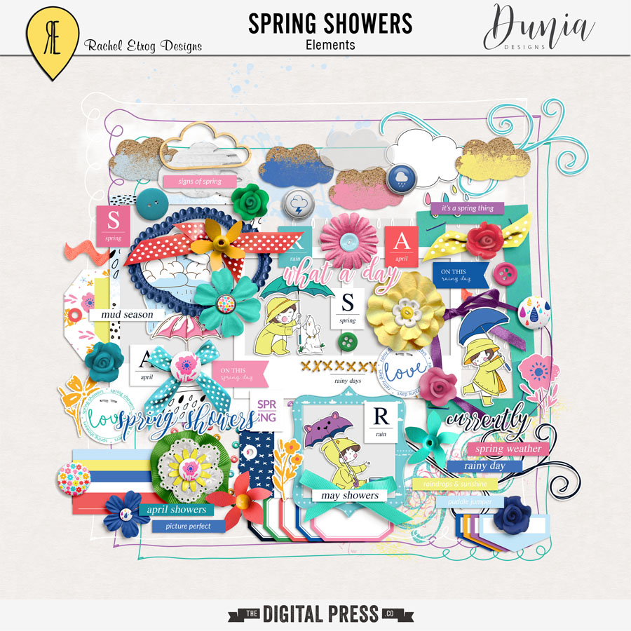 Spring Showers Collab | Elements