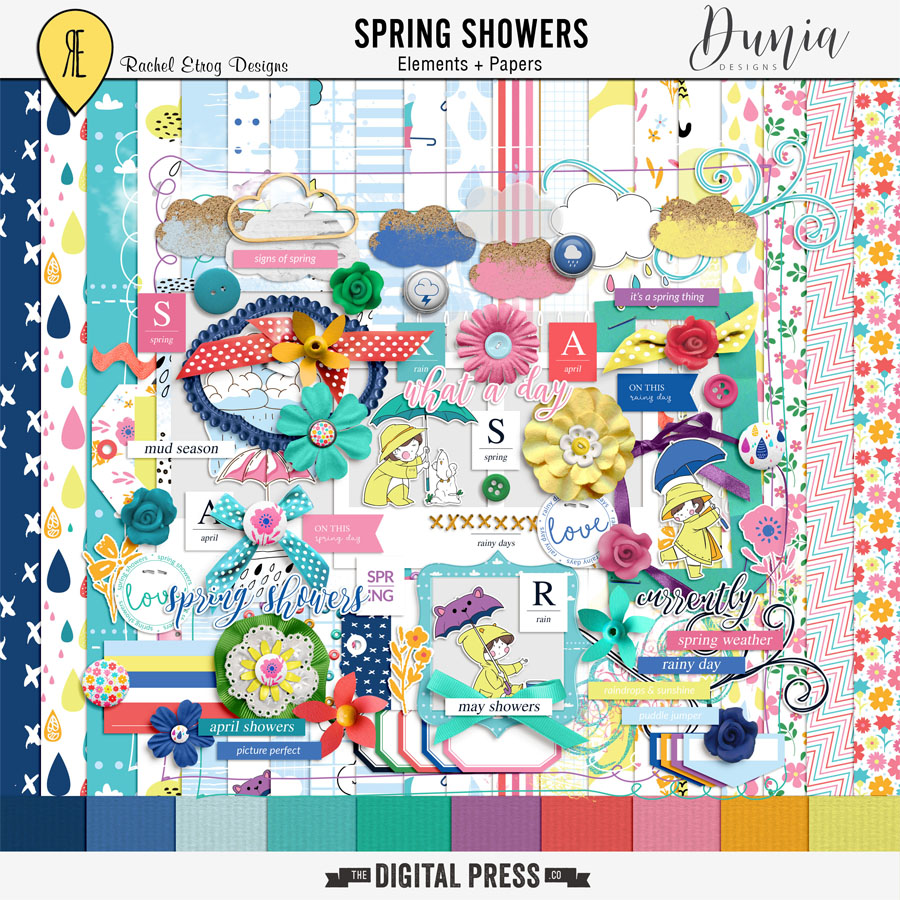 Spring Showers Collab | Kit