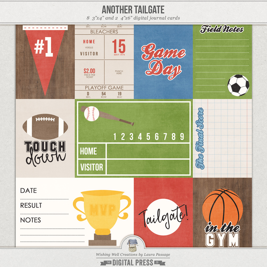 Another Tailgate   Journal Cards