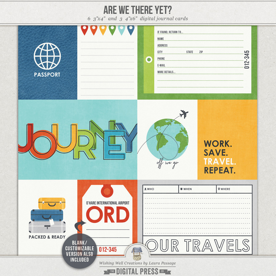 Are We There Yet? | Journal Cards