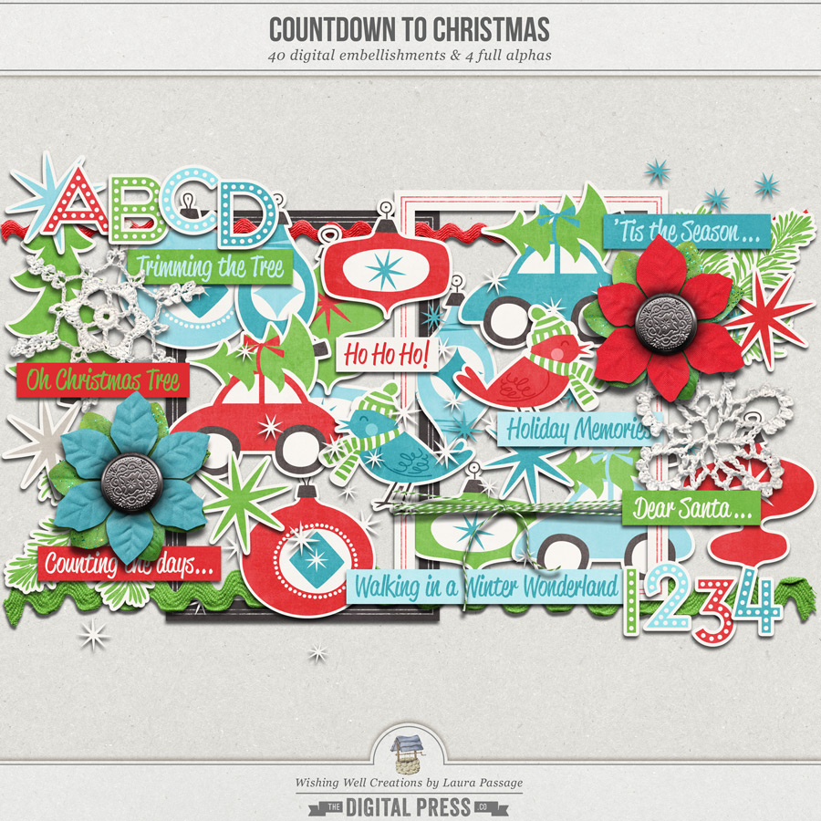 Countdown To Christmas   Elements