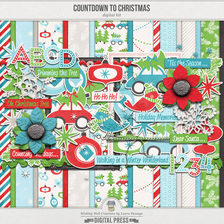 Countdown To Christmas | Kit