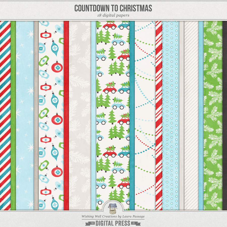 Countdown To Christmas | Paper