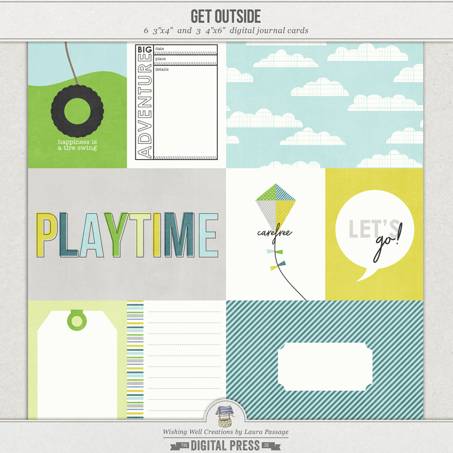 Get Outside   Journal Cards