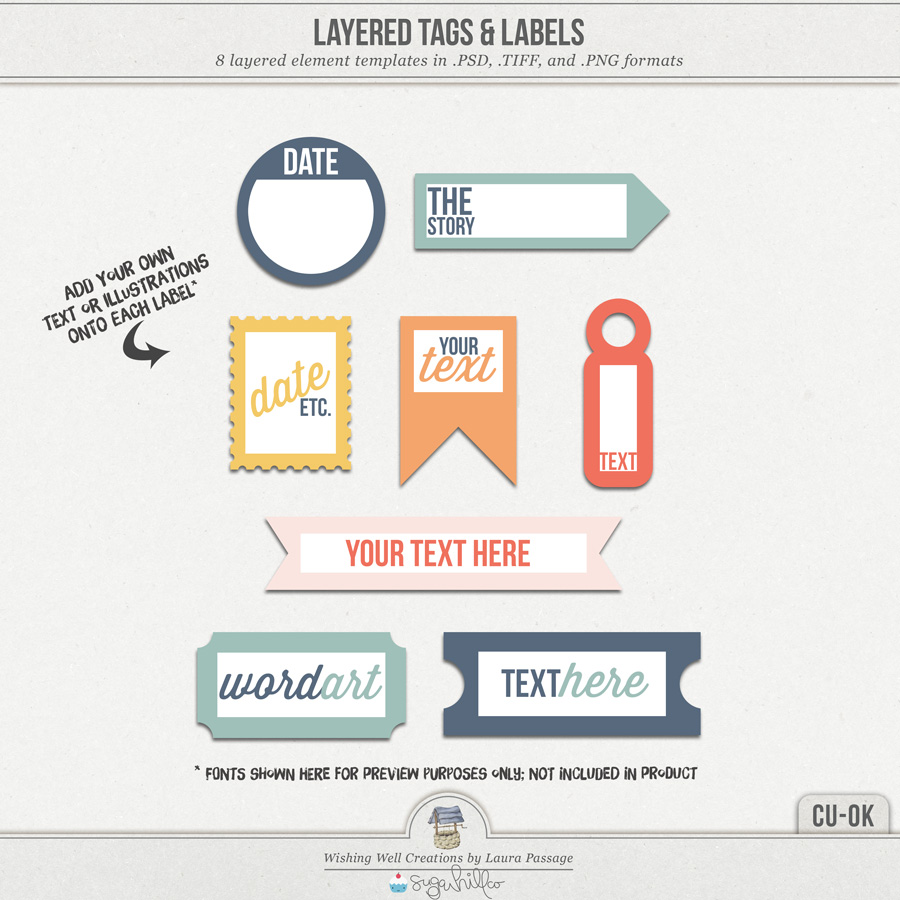 Layered Tags & Labels (CU)