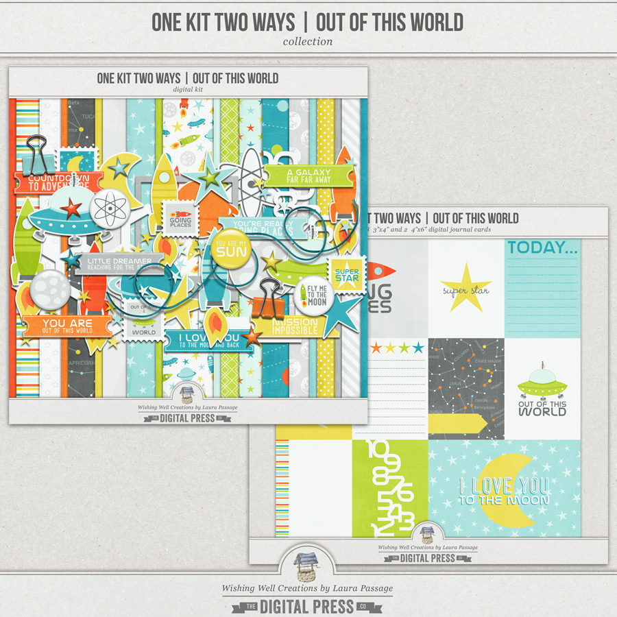 One Kit Two Ways: Out Of This World   Collection