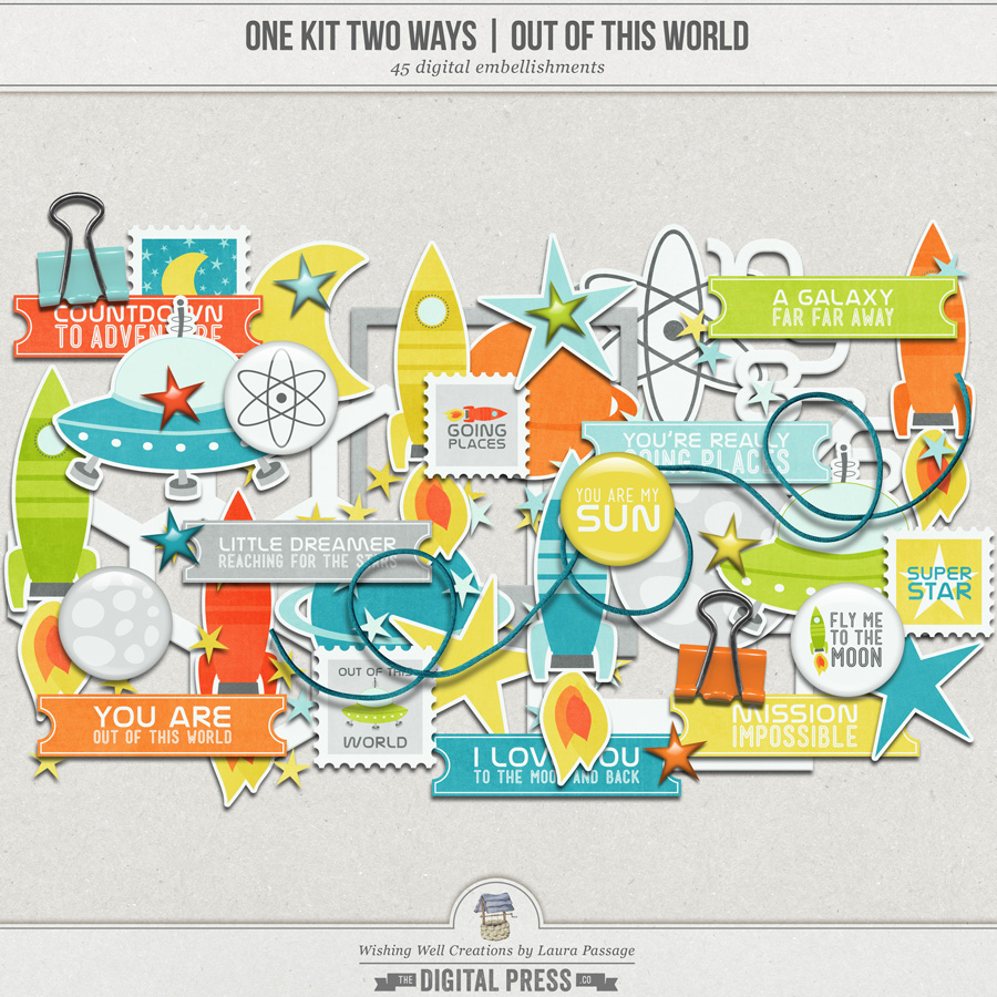 One Kit Two Ways: Out Of This World | Elements