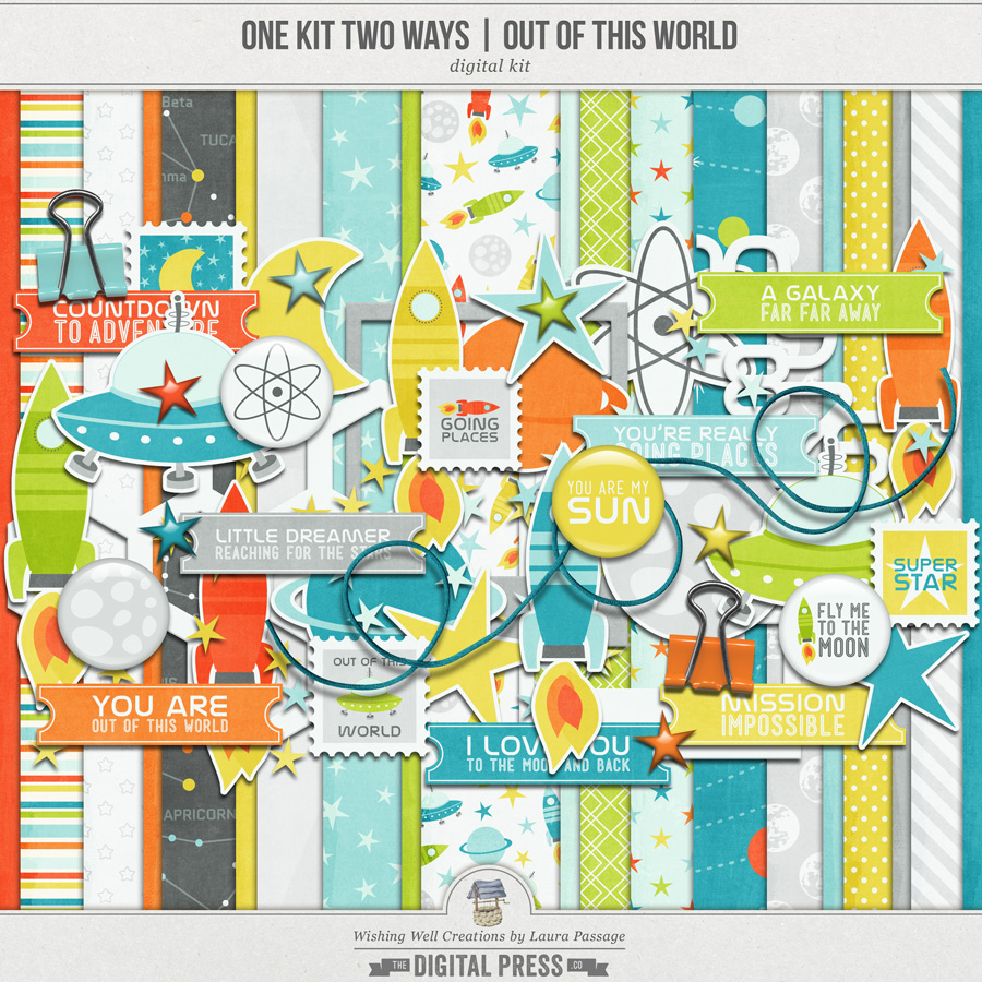 One Kit Two Ways: Out Of This World | Kit