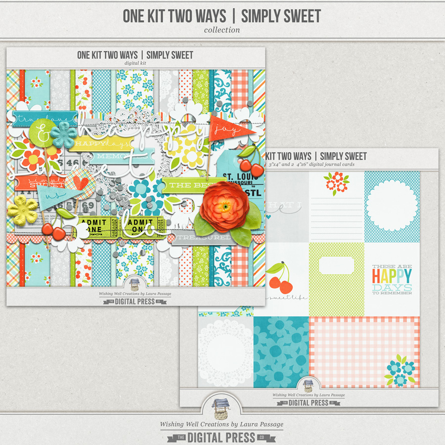 One Kit Two Ways: Simply Sweet | Collection