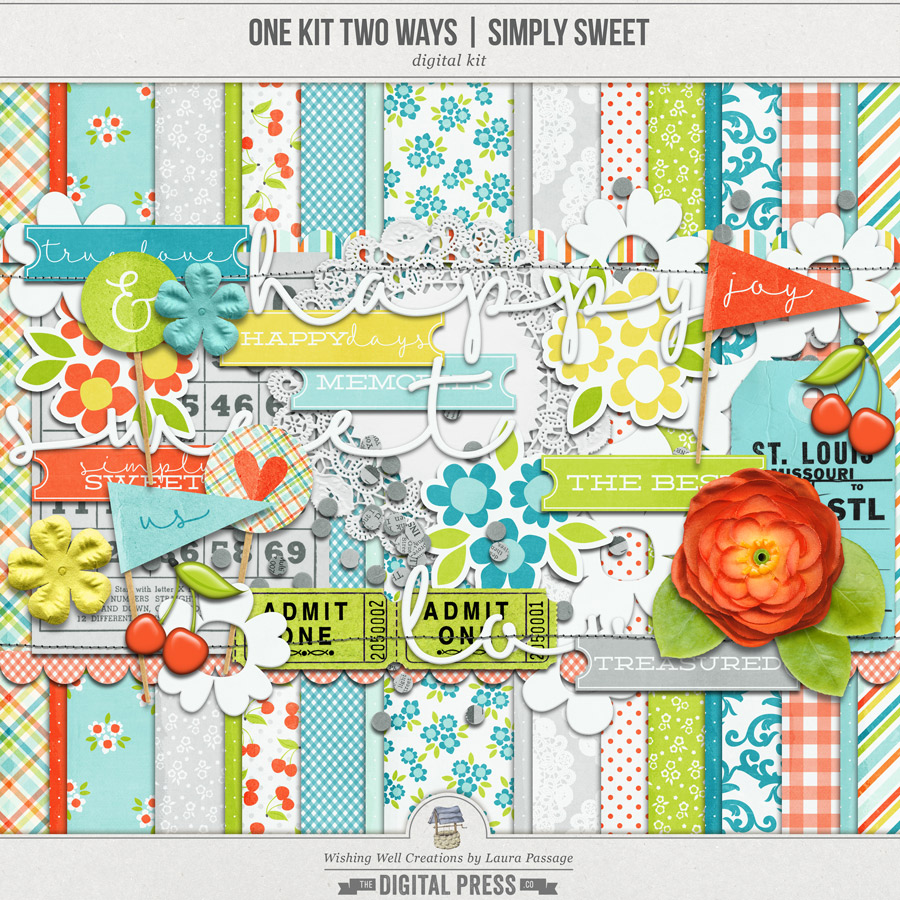 One Kit Two Ways: Simply Sweet | Kit