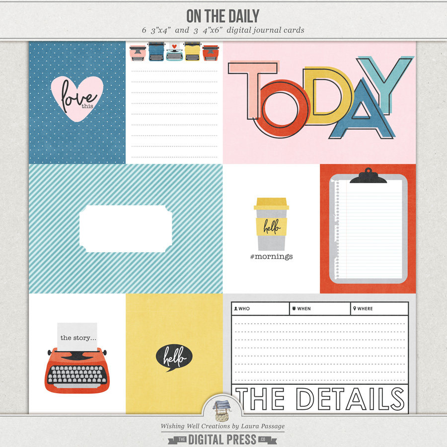 On The Daily   Journal Cards