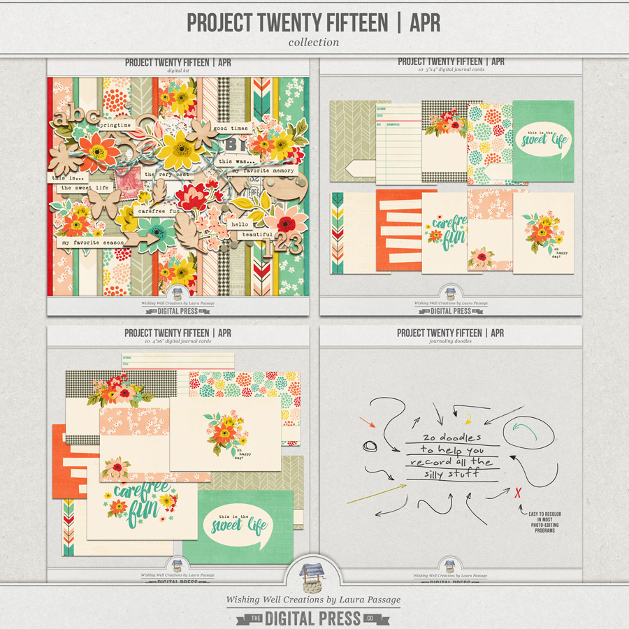 Project Twenty Fifteen | April Collection