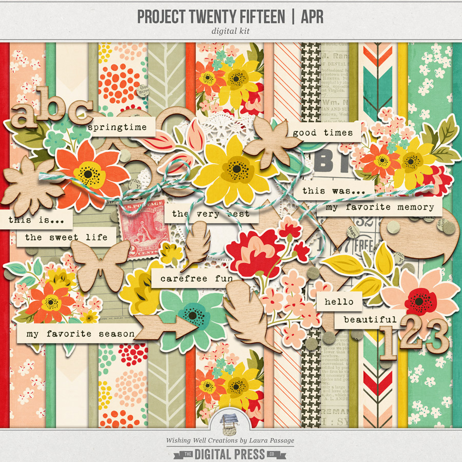 Project Twenty Fifteen | April Kit