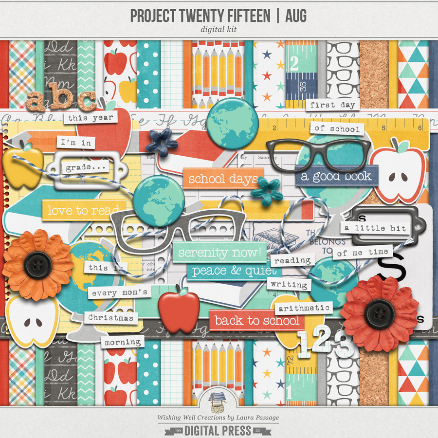 Project Twenty Fifteen | August Kit