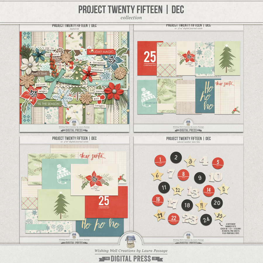Project Twenty Fifteen | December Collection