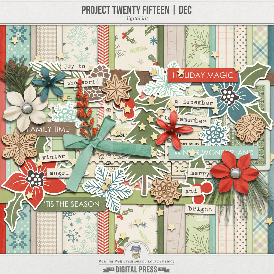 Project Twenty Fifteen | December Kit