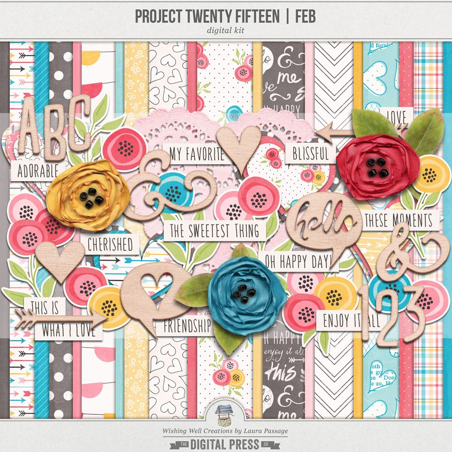 Project Twenty Fifteen | February Kit